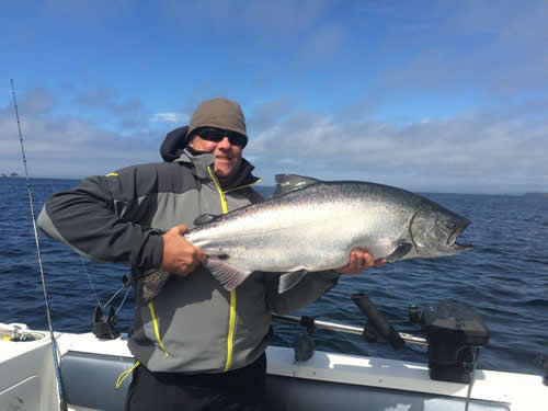 Aug 12 - Salmon - Fishing with Big Blue Charters, Alaska
