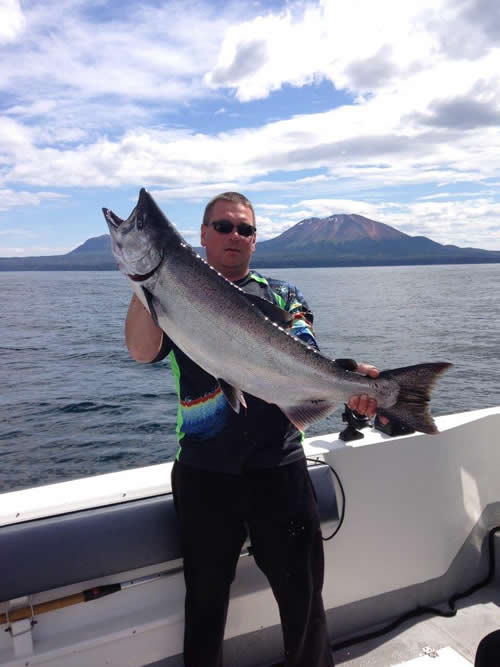 Big Salmon - Fishing with Big Blue Charters, Alaska