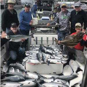Boatful of fish! Alaska Fishing Charters - Big Blue