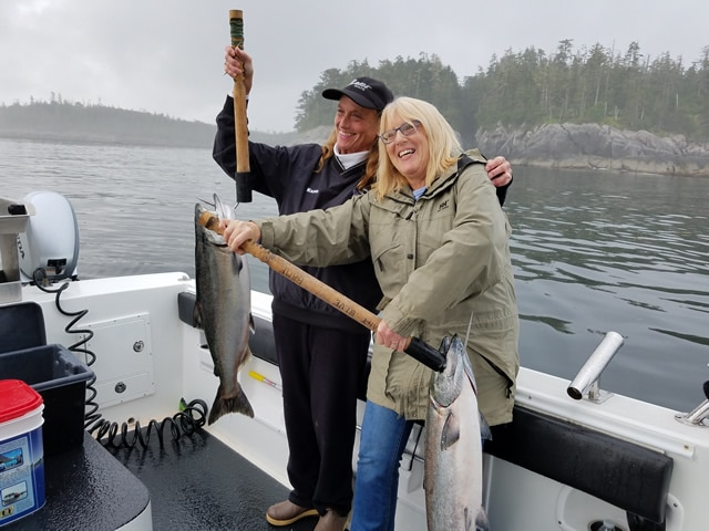 July 12, 2019 - Salmon Fishing in Alaska with Big Blue Charters!
