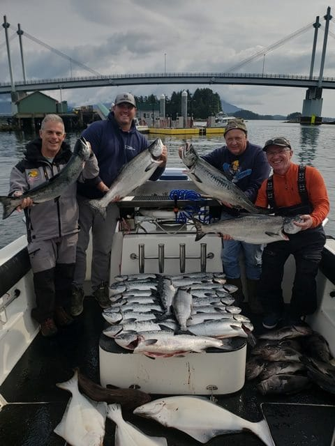 July 30, 2019: Salmon and Halibut Fishing in Alaska with Big Blue Charters