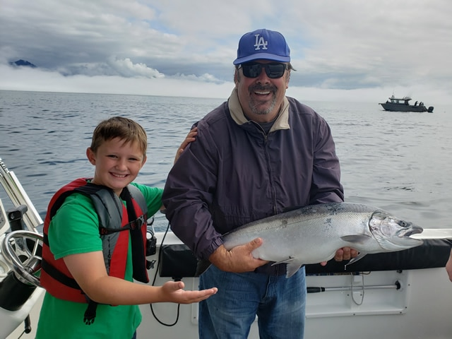 August 16, 2019 - Family-Friendly Fishing Charter-Big Blue Charters, Alaska