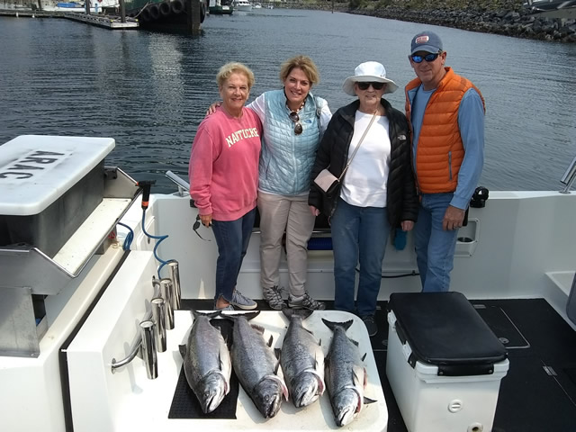 July 7, 2019 - Alaska fishing with Big Blue Charters.