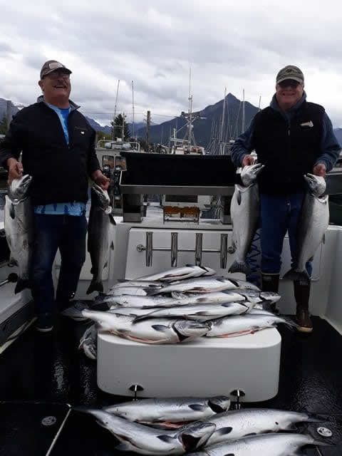 Lots of Fun fishing in Sitka with Big Blue Charters!