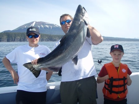 Father's Day- Fishing Alaska with Big Blue Charters