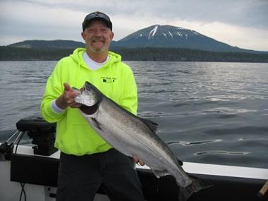Ed's First King Salmong - Sitka, Alaska